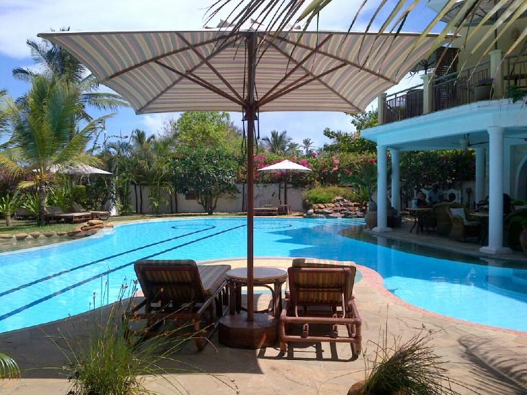 12. Pool View Afrochic Hotel Diani Kenya