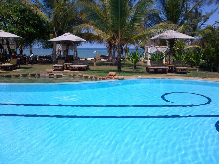 14. Ocean View Afrochic Hotel Diani Kenya