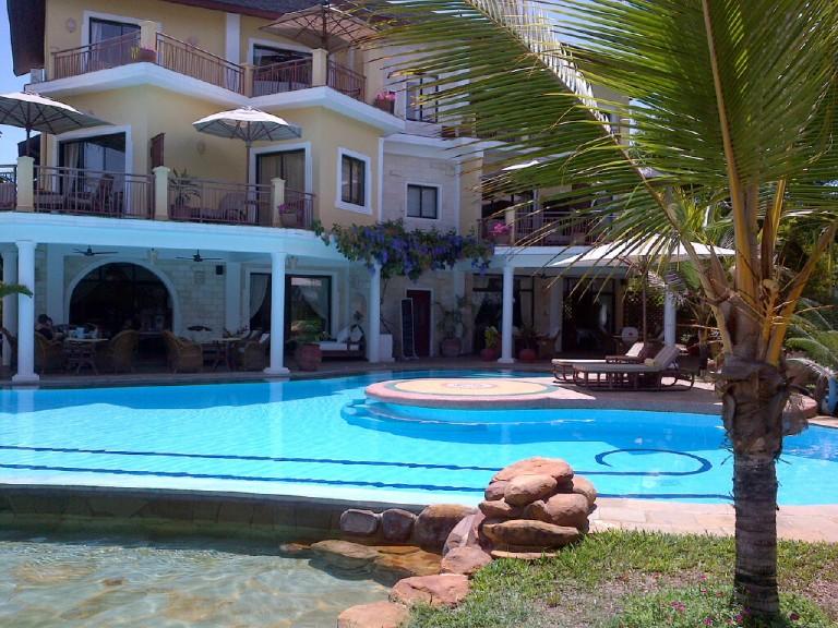 9. Outside Afrochic Hotel Diani Kenya