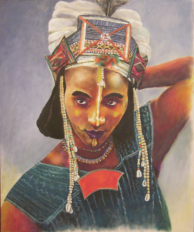 African Painting by Margrit-Rose People 21 | The Chronicles of an ...
