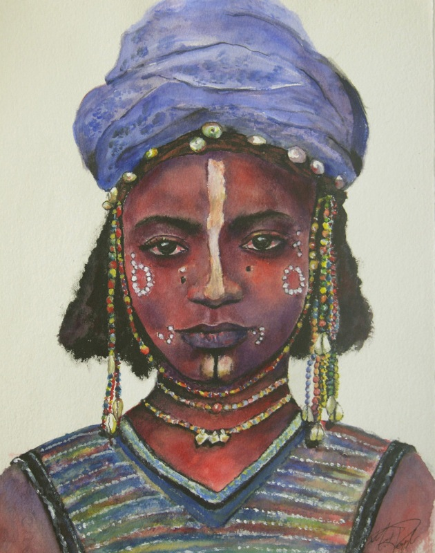 African Painting by Margrit-Rose People 22 | The Chronicles of an ...