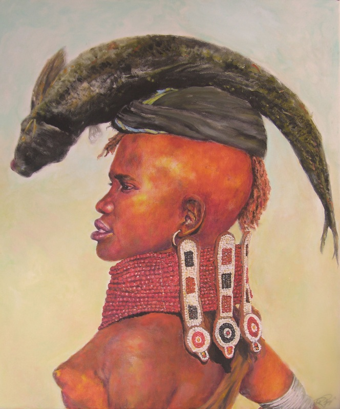 African Painting by Margrit-Rose People 25 | The Chronicles of an ...