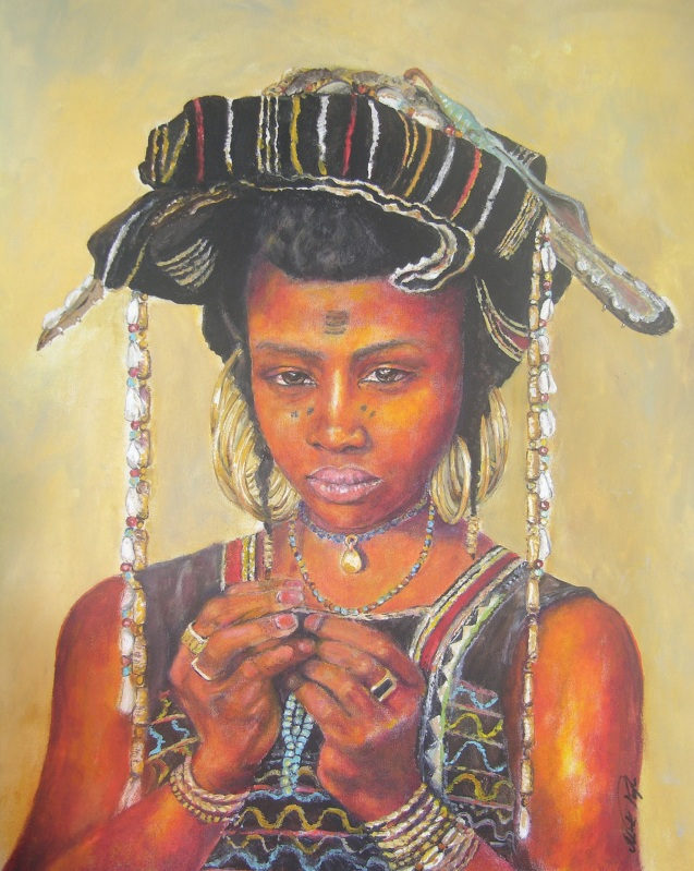 African Painting by Margrit-Rose People 26 | The Chronicles of an ...