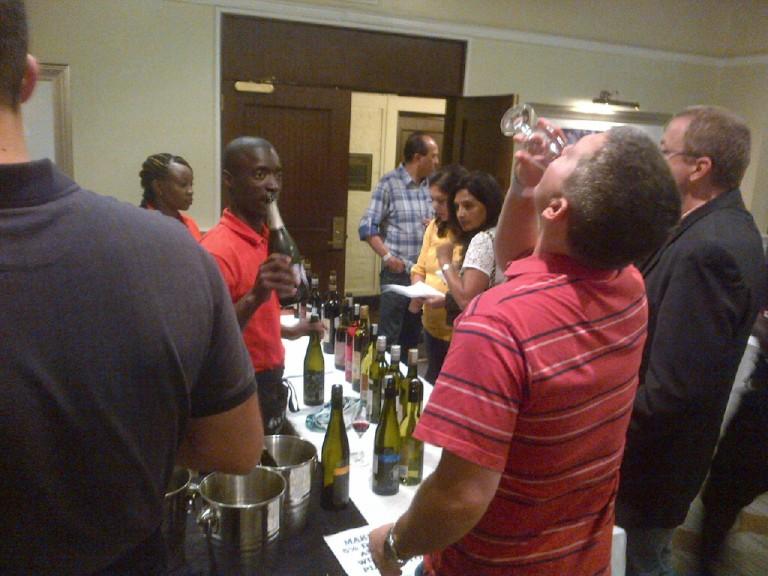 2 Fine Wine Show in Nairobi 2012 Akinyi Adongo