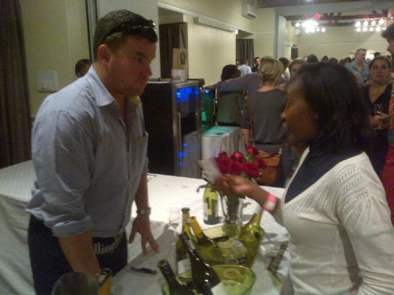 21 Fine Wine Show in Nairobi 2012 Akinyi Adongo