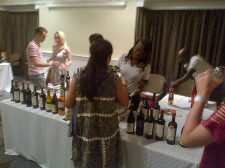 3 Fine Wine Show in Nairobi 2012 Akinyi Adongo