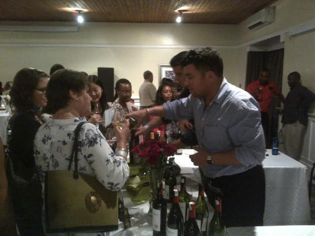 7 Fine Wine Show in Nairobi 2012 Akinyi Adongo