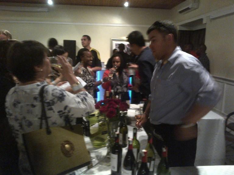 8 Fine Wine Show in Nairobi 2012 Akinyi Adongo
