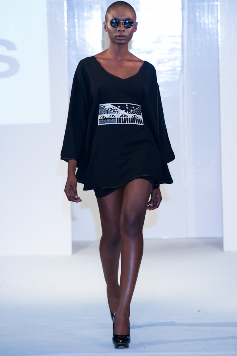 Remi Lagos collection at Africa Fashion Week London 2012