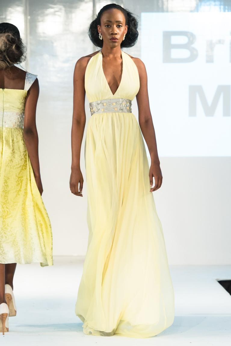 Brigitte Merki collection at Africa Fashion Week London 2012