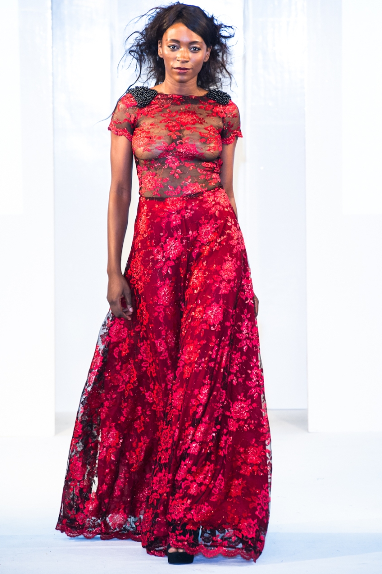 Ozora collection at Africa Fashion Week London 2012
