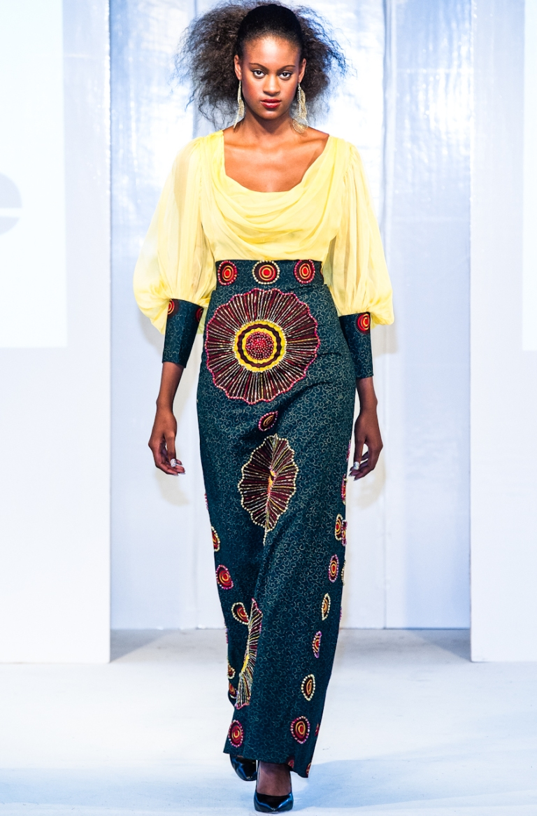 Trish O Couture collection at Africa Fashion Week London 2012