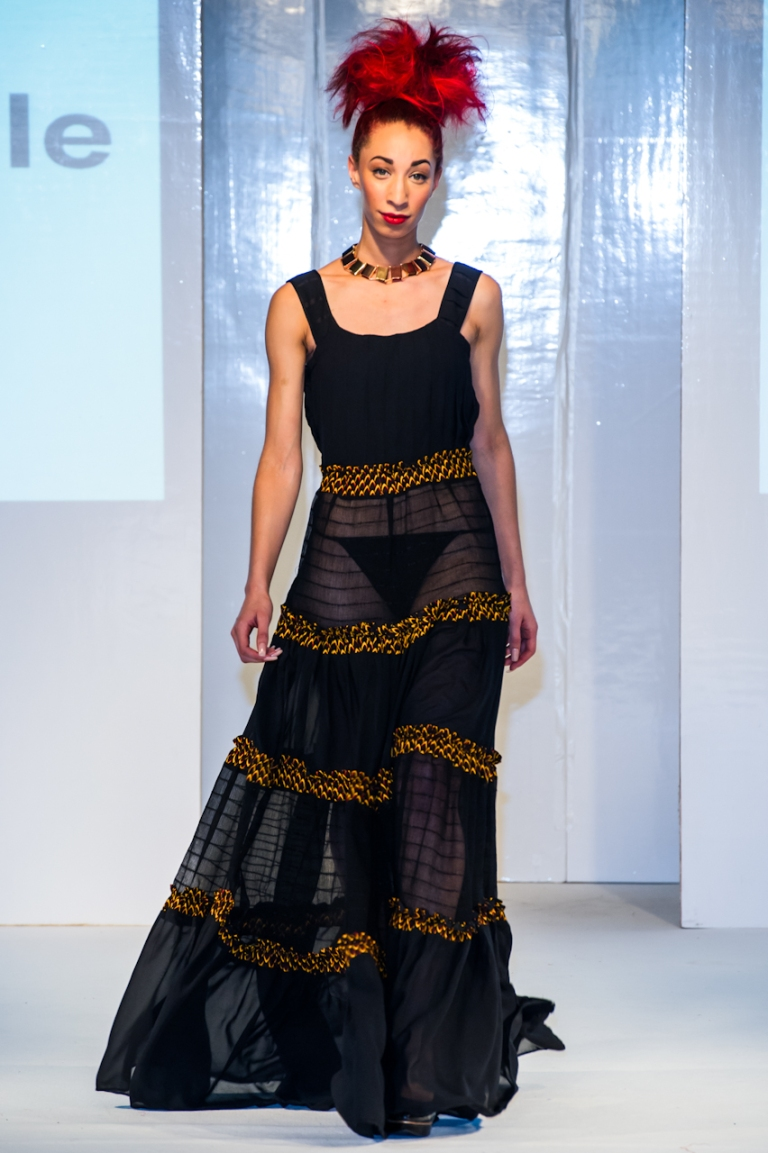 Mademoiselle Aglaia collection at Africa Fashion Week London 2012