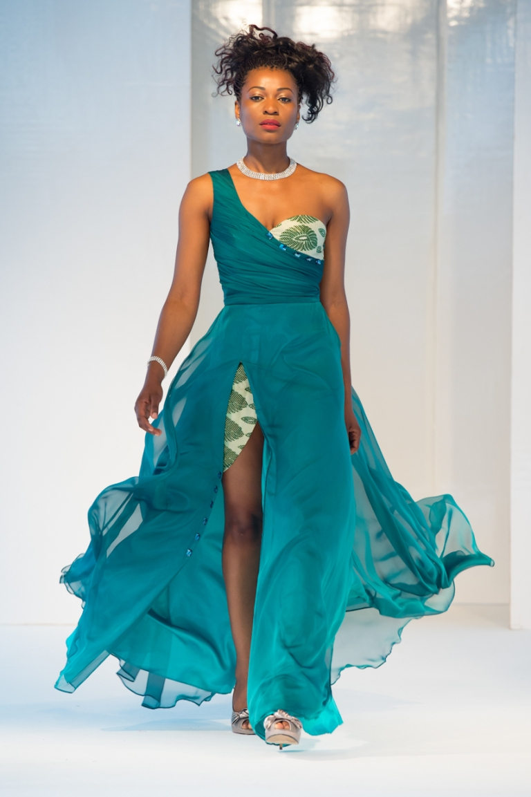 Rachel Kirya collection at Africa Fashion Week London 2012