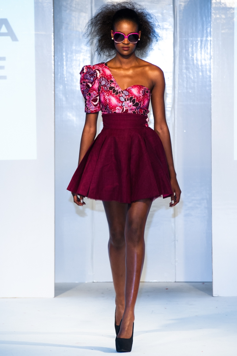 Uber Africa Collective collection at Africa Fashion Week London 2012