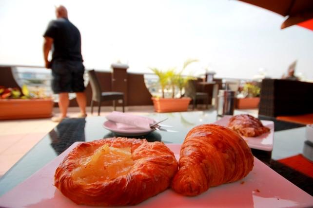 11 Danish Croissant and Plain Croissant Cafe Gourmand Bujumbura Akinyi Adongo