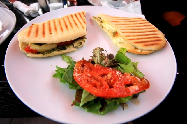15 Tomato and Cheese Panini Cafe Gourmand Bujumbura Akinyi Adongo