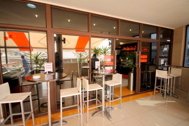 3 Entrance Cafe Gourmand Bujumbura Akinyi Adongo
