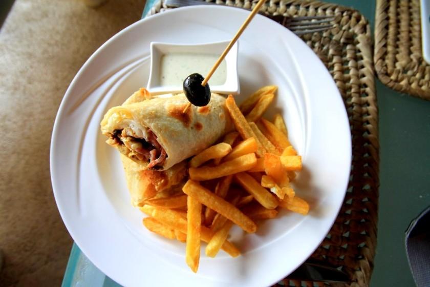 10 Chicken Wrap Diani Reef Beach Resort & Spa Kenya Akinyi Adongo
