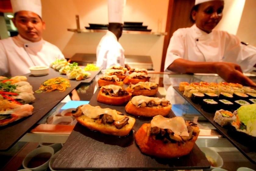 13 88, The Pan Asian Restaurant and Tambourin, Villa Rosa Kempinski, Nairobi Akinyi Adongo Kenya Africa