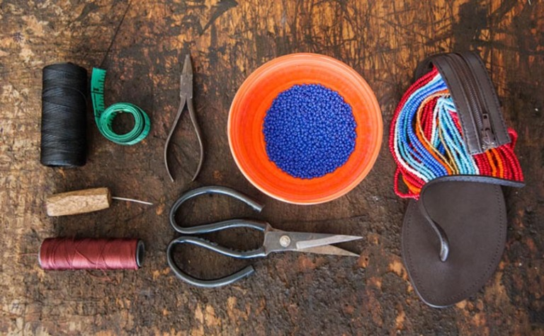 4 Leen Samyn Maasai Morani Sandals Akinyi Adongo