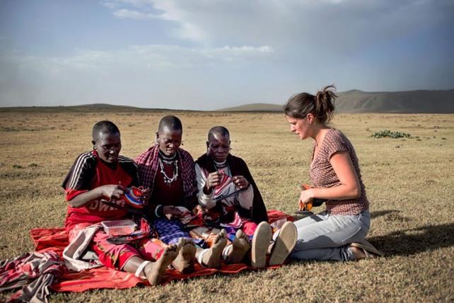 5 Leen Samyn Maasai Morani Sandals Akinyi Adongo