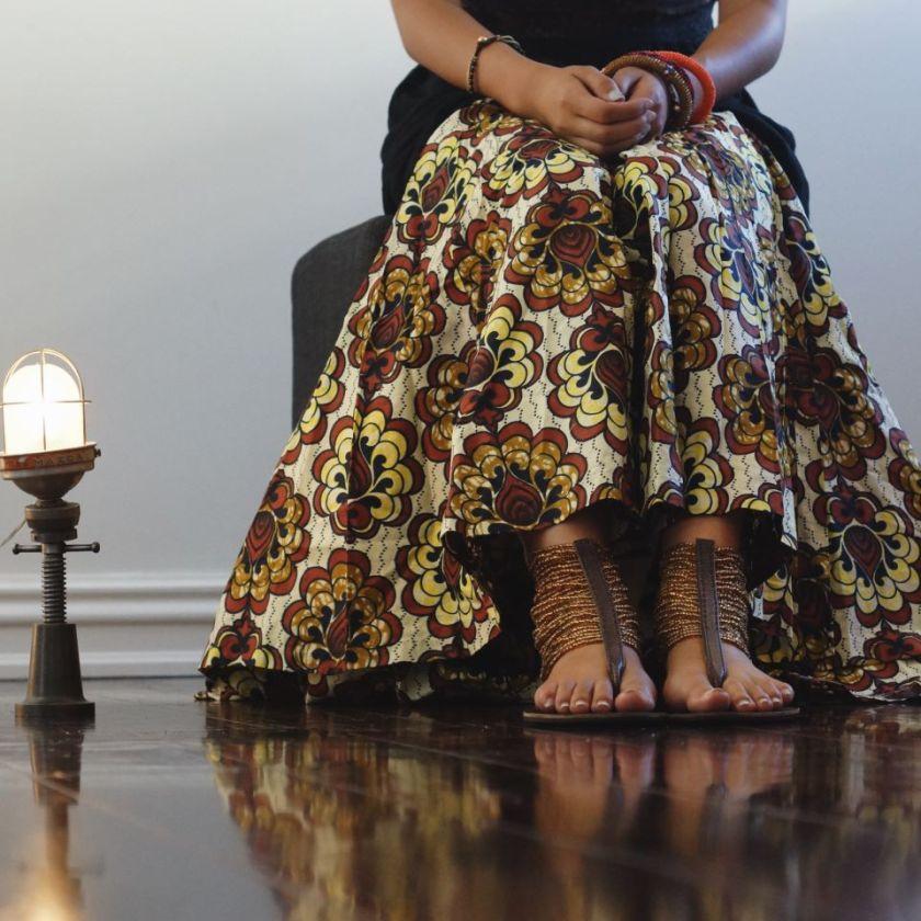 7 Leen Samyn Maasai Morani Sandals Akinyi Adongo