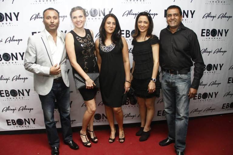 10 The Grand Opening of Ebony Lounge Westlands Naairobi Akinyi Adongo