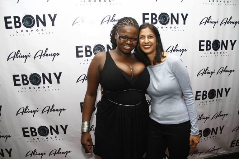 102 The Grand Opening of Ebony Lounge Westlands Naairobi Akinyi Adongo