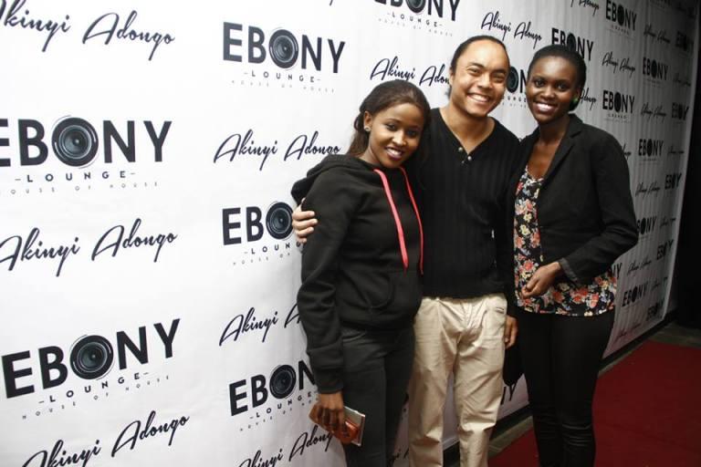 103 The Grand Opening of Ebony Lounge Westlands Naairobi Akinyi Adongo