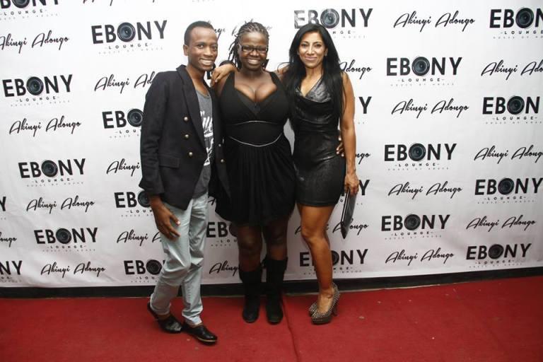 105 The Grand Opening of Ebony Lounge Westlands Naairobi Akinyi Adongo