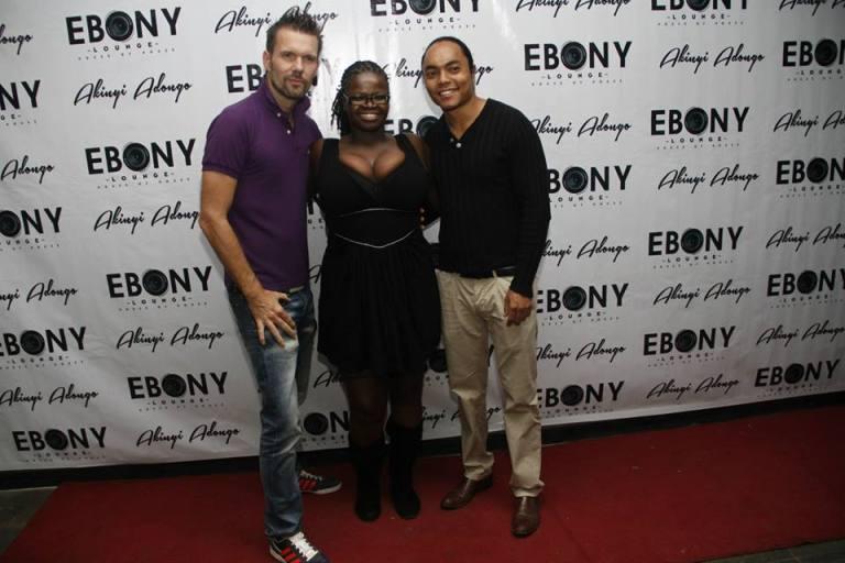 106 The Grand Opening of Ebony Lounge Westlands Naairobi Akinyi Adongo