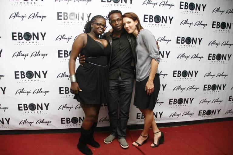 108 The Grand Opening of Ebony Lounge Westlands Naairobi Akinyi Adongo