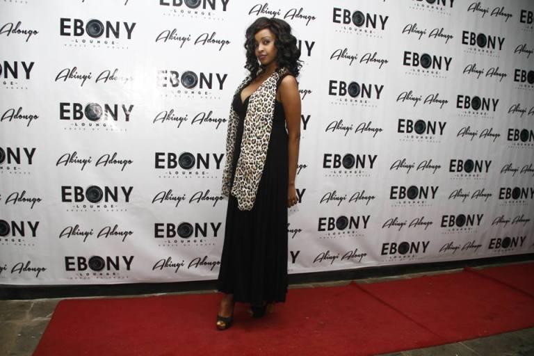 109 The Grand Opening of Ebony Lounge Westlands Naairobi Akinyi Adongo
