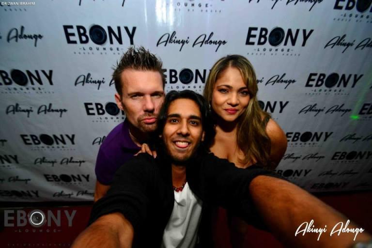 13 The Grand Opening of Ebony Lounge Westlands Naairobi Akinyi Adongo