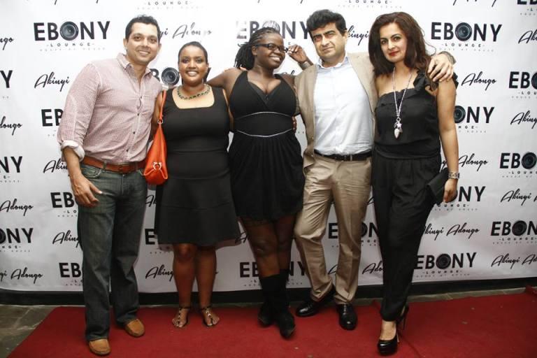 14 The Grand Opening of Ebony Lounge Westlands Naairobi Akinyi Adongo