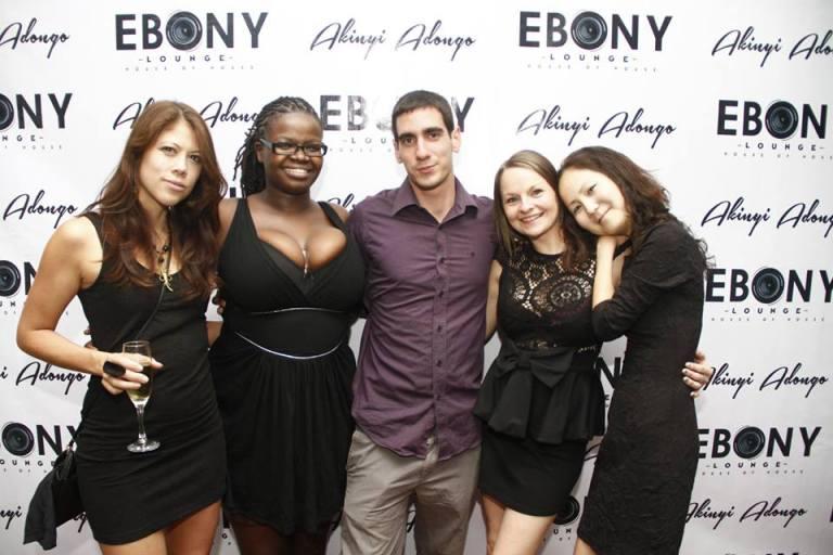 16 The Grand Opening of Ebony Lounge Westlands Naairobi Akinyi Adongo