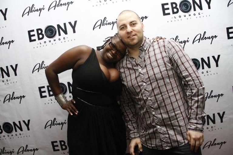 18 The Grand Opening of Ebony Lounge Westlands Naairobi Akinyi Adongo