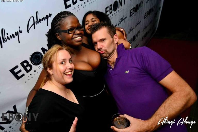 19 The Grand Opening of Ebony Lounge Westlands Naairobi Akinyi Adongo