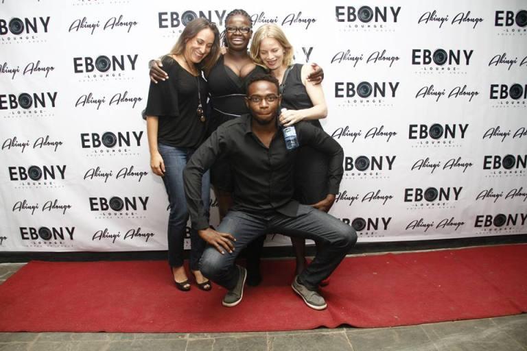 23 The Grand Opening of Ebony Lounge Westlands Naairobi Akinyi Adongo