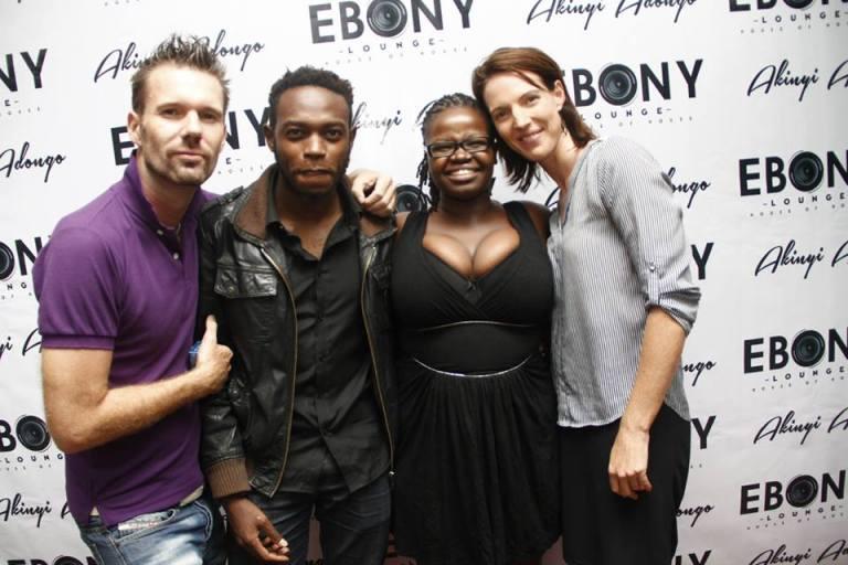 24 The Grand Opening of Ebony Lounge Westlands Naairobi Akinyi Adongo