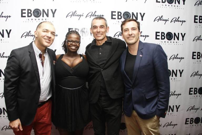 25 The Grand Opening of Ebony Lounge Westlands Naairobi Akinyi Adongo