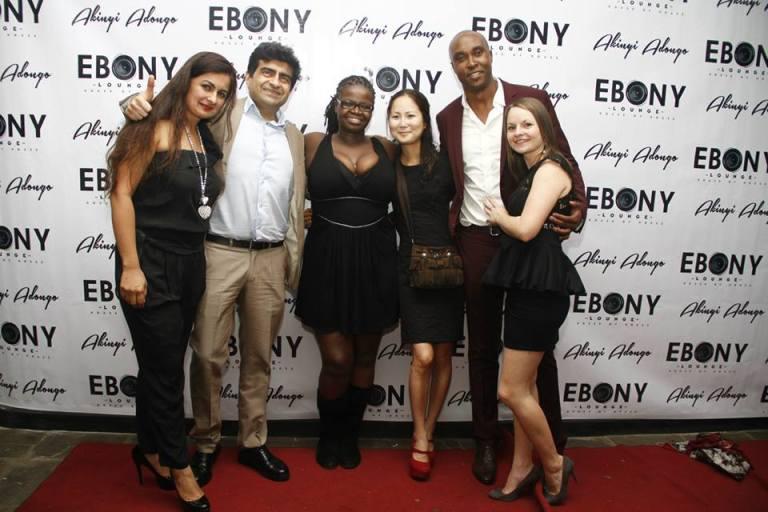 27 The Grand Opening of Ebony Lounge Westlands Naairobi Akinyi Adongo