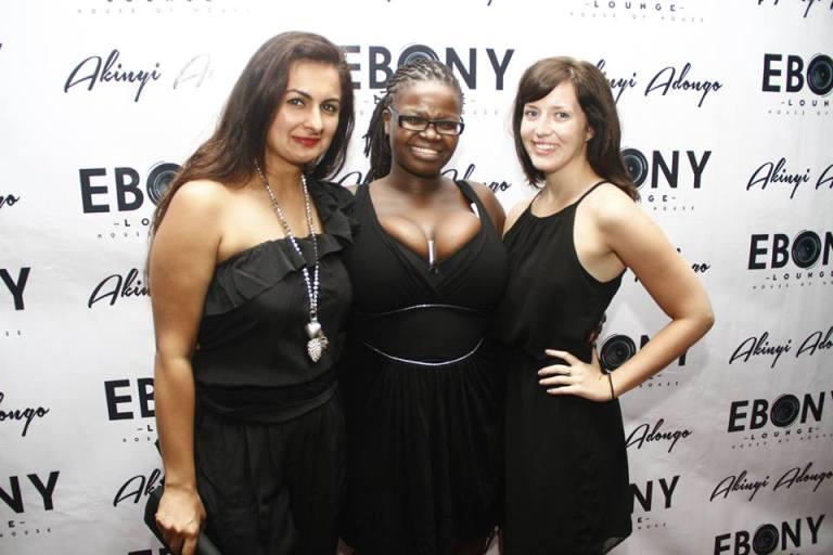 28 The Grand Opening of Ebony Lounge Westlands Naairobi Akinyi Adongo