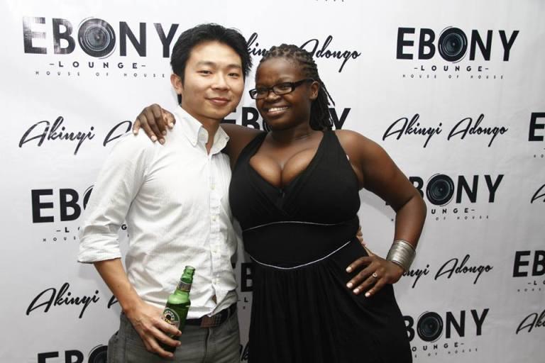 29 The Grand Opening of Ebony Lounge Westlands Naairobi Akinyi Adongo