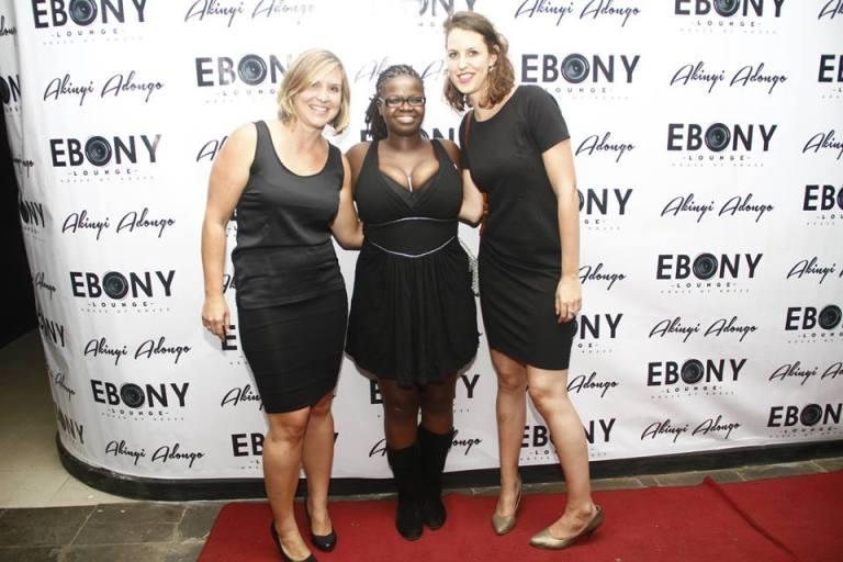 31 The Grand Opening of Ebony Lounge Westlands Naairobi Akinyi Adongo