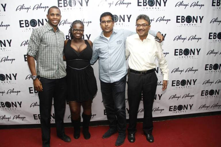 33 The Grand Opening of Ebony Lounge Westlands Naairobi Akinyi Adongo