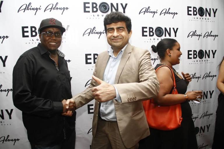 36 The Grand Opening of Ebony Lounge Westlands Naairobi Akinyi Adongo