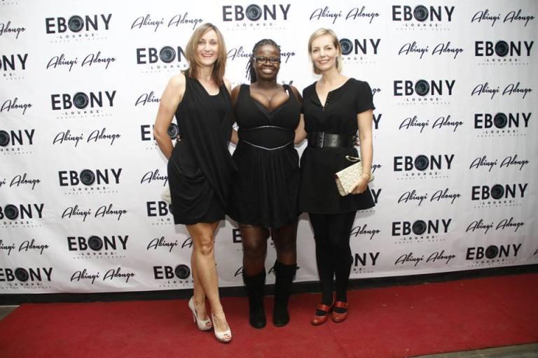 37 The Grand Opening of Ebony Lounge Westlands Naairobi Akinyi Adongo