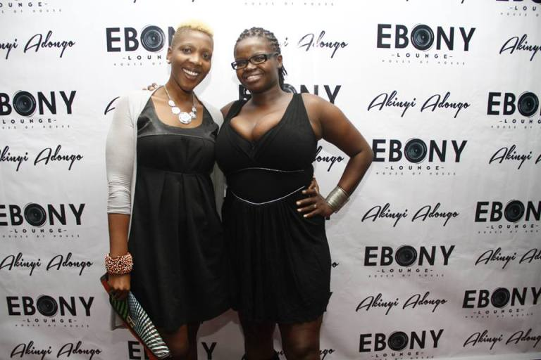 38 The Grand Opening of Ebony Lounge Westlands Naairobi Akinyi Adongo